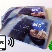 Umweltfreundliche Kartonkarten mit NFC Chip