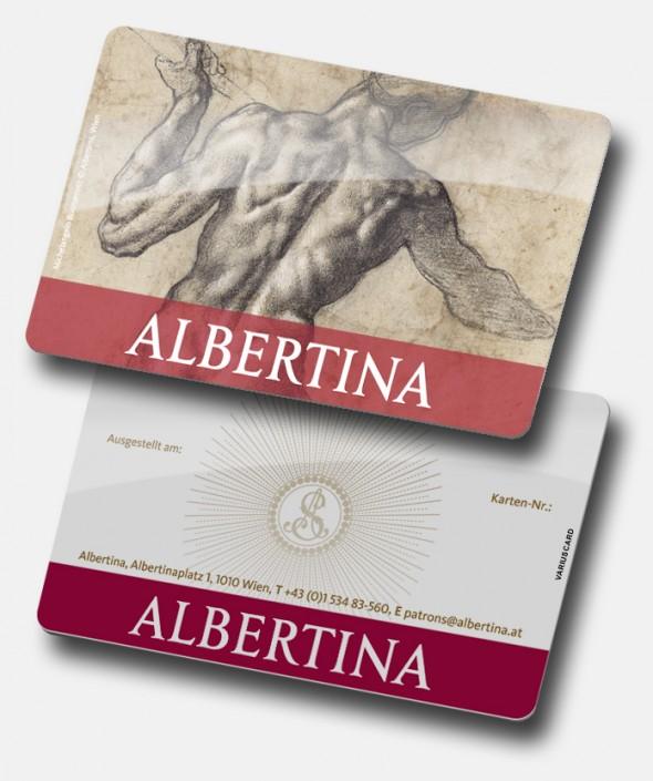 Albertina Kundenkarte von Variuscard