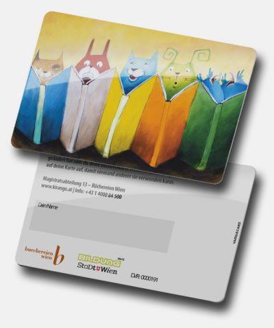 Stadtbücherei Wien Kundenkarte von Variuscard