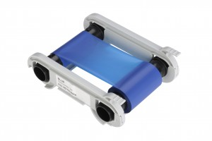 Folie für Kartendrucker Evolis primacy blau