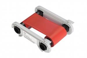 Folie für Kartendrucker Evolis primacy rot