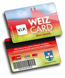 Weiz Card Gästekarten Hersteller Variuscard