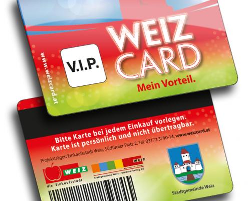Weiz Card Plastikkarten Hersteller Variuscard