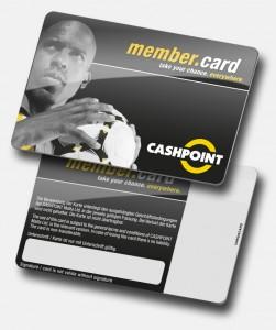 Cashpoint Member card von Variuscard