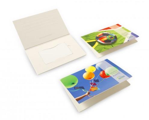 Verpackung Plastikkarten