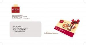 Plastikkarte Mailing variuscard
