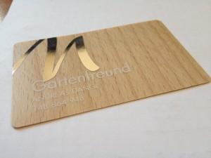 Holzkarte