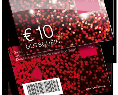 Huber shop Kundenkarte von VARIUSCARD