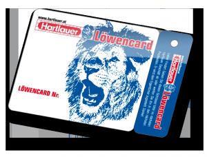 Kundenkarte Löwencard von VARIUSCARD