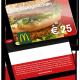 McDonalds Gutscheinkarte von VARIUSCARD