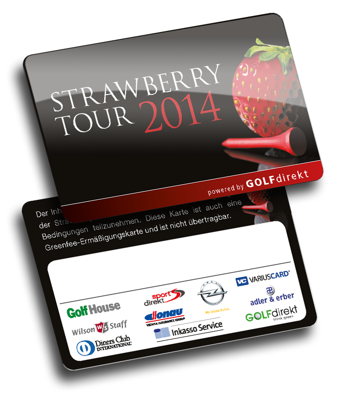 Strawberry Tour Gutscheinkarte von Variuscard