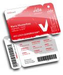 ÖGBcard Gewerkschaft vida Mitgliedskarte von Variuscard