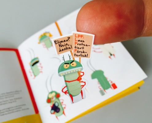 Stickerbuch Dispenser POS Display
