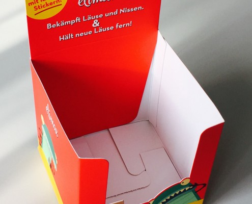 Kartonverpackung Display POS, cardboard