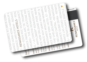 Hotel Schlüsselkarte Druckerei mit Magnetstreifen oder Chip