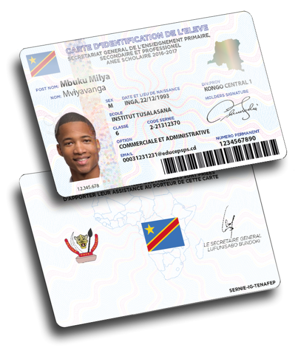 Secure ID Cards for School and University Variuscard