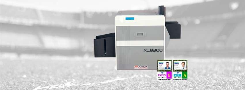 MATICA XL8300 XXL Kartendrucker