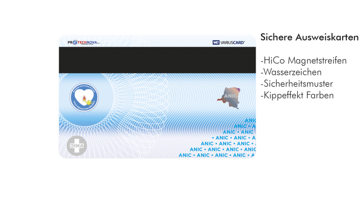 Ausweiskarten drucken lassen - Variuscard