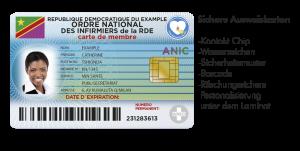 Ausweiskarten drucken - Variuscard