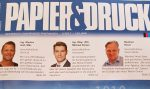 Variuscard im Magazin Papier&Druck