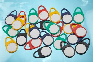 Teardrop RFID Keytags Keyfob Schlüsselanhänger