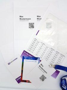 Akkreditierung schnell und einfach mit integrierten Ausweisen und Laserdruckern - Komplettlösungen von Variuscard