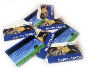 Umweltfreundliche Kartonkarten