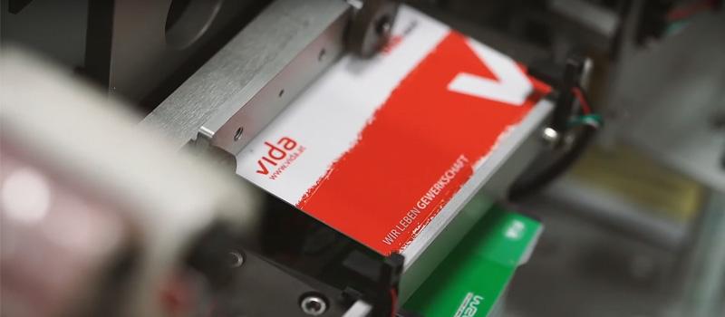 Kartendruck VIDA Mitgliedskarte